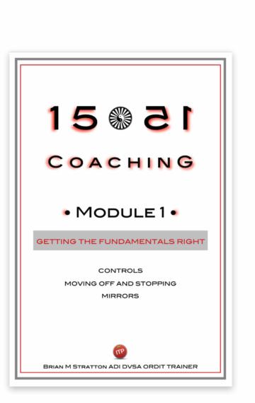 1551 Coaching: Module 1