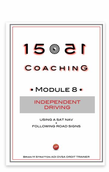1551 Coaching: Module 8